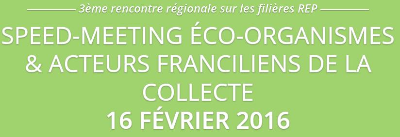La régénération de piles s'invite lors du 3e speed-meeting sur les filières REP en Ile de France