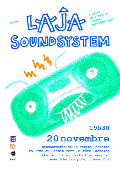 "Expérimentation ""Laja SoundSystem"" le 20 nov. 2015"